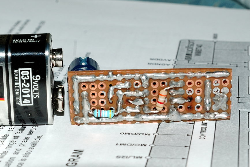 Measurements microphone/preamp - WM61